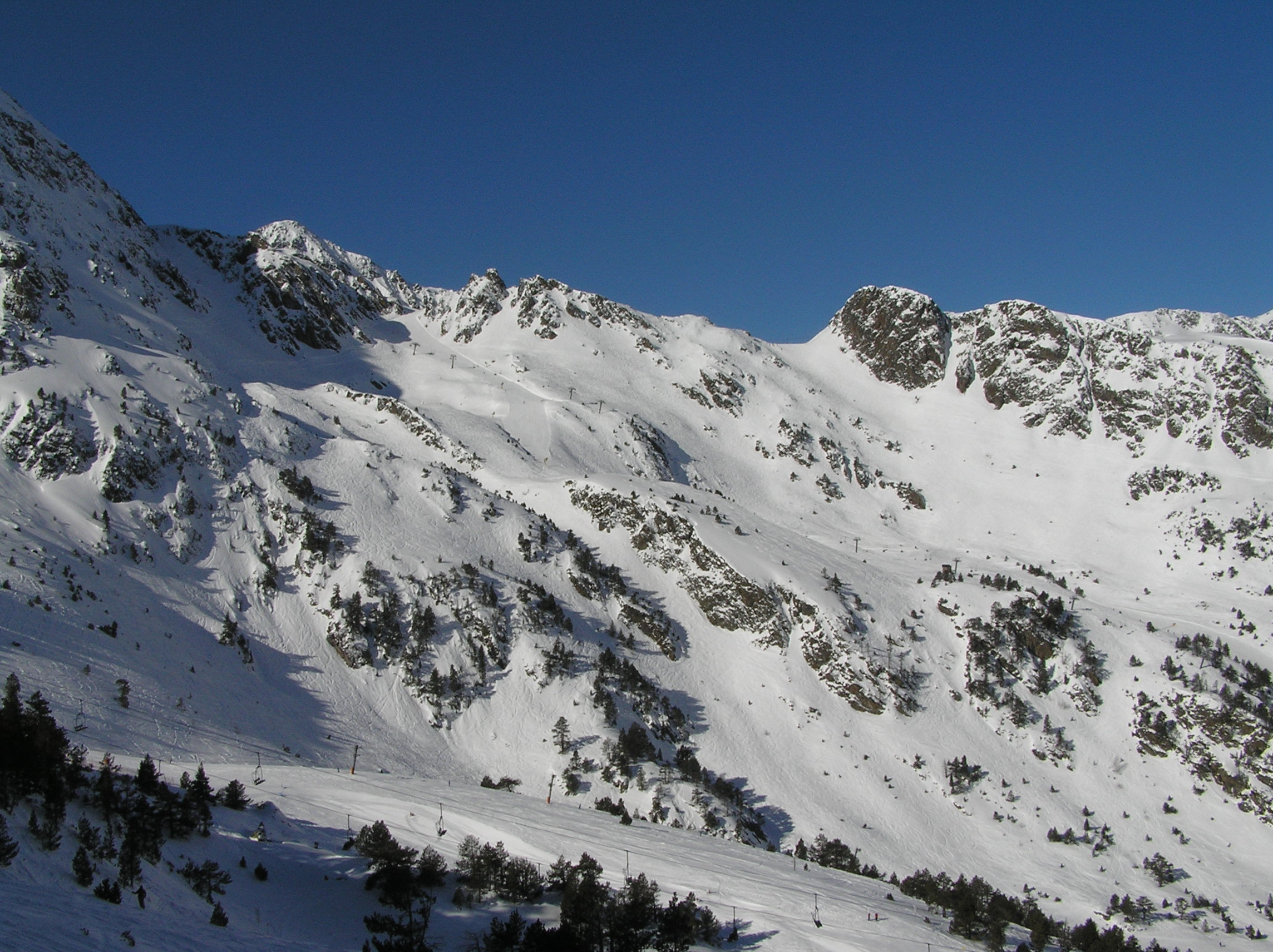 The Beautiful Slopes of Andorra